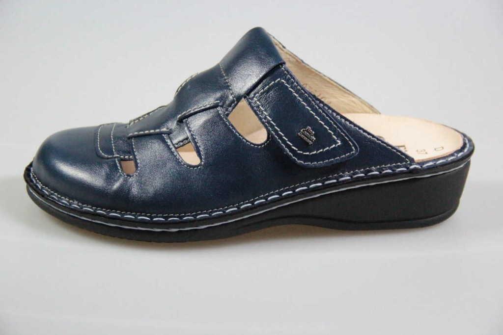 Finn Comfort Pantoletten Frauen Java ozean blau UIaSKG