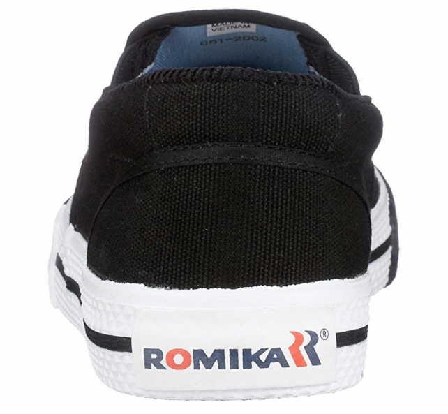 ROMIKA Sportliche Slipper Männer 2000270-100 schwarz FRA7QV
