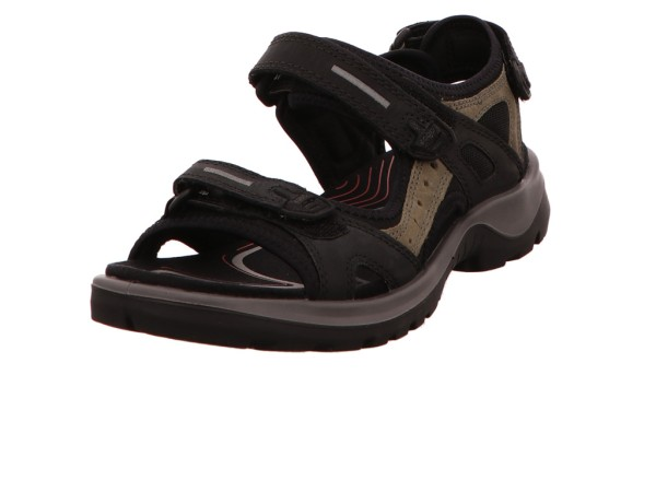 Komfort Sandalen schwarz Yucatan