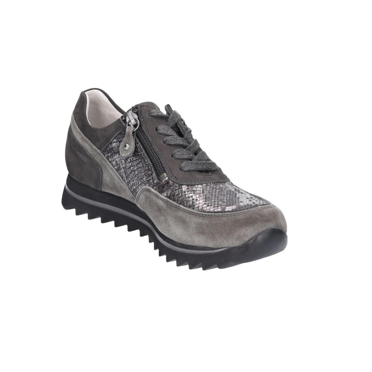 Waldläufer Sneaker Frauen 923011-318/338 338 grau eh53Zx