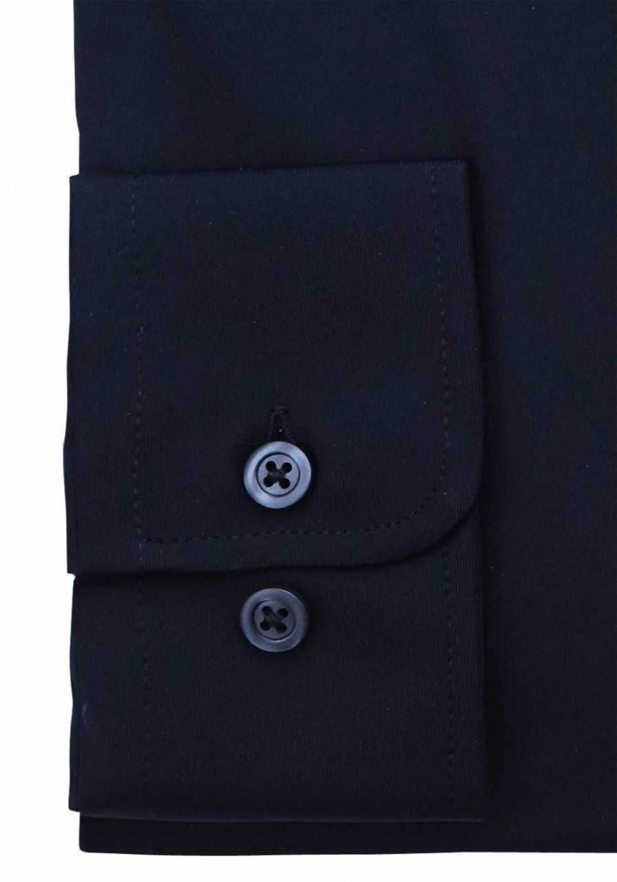 Hatico Langarm Business Hemd Männer 3387-21150 Schwarz