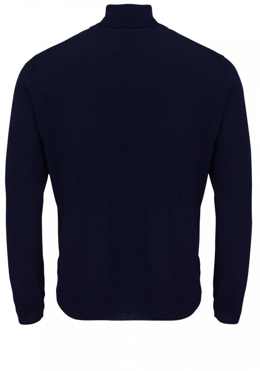 Olymp Rollkragenpullover Männer 015012 Blau