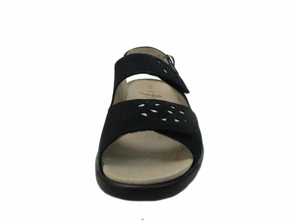 Solidus Komfort Sandalen Frauen 2300080308 blau TcLO2V
