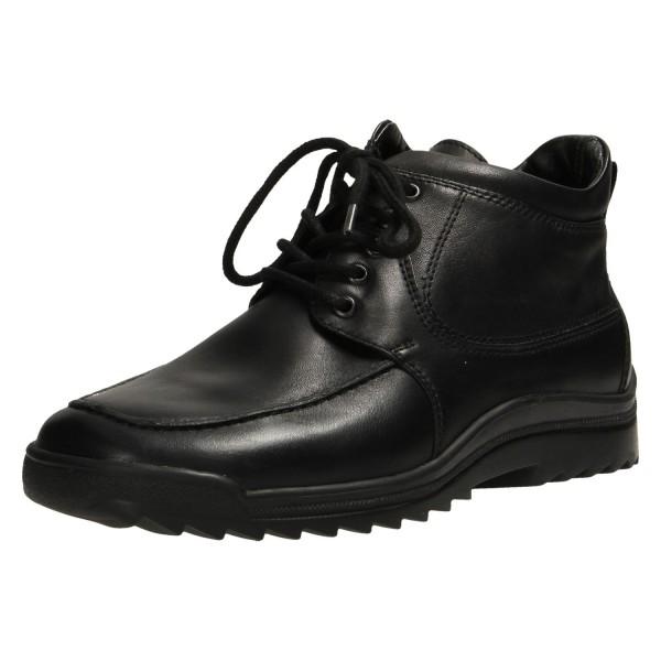 Schnür-Stiefeletten schwarz Lugina 483830 schwarz